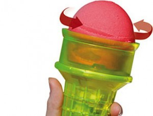 Motarized Ice Cream Cone