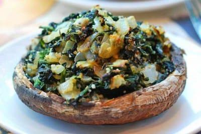 spinach-stuffed-portobello