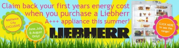 Claim Your First Years Energy Cost Back on A+++ Liebherr Appliances