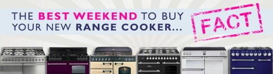 The Best Weekend to Buy a New Range Cooker - FACT! Appliance City