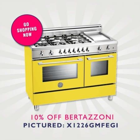 10% off Bertazzoni Range Cookers | Appliance City