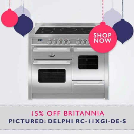 15% OFF Britannia Range Cookers Exc. Wyre Model | Appliance City