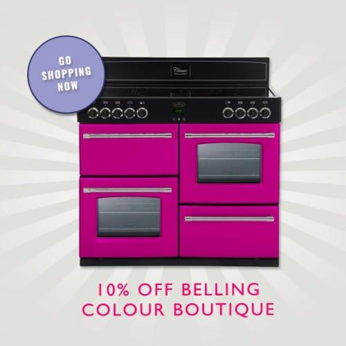 10% off Belling Colour Boutique Range Cookers | Appliance City