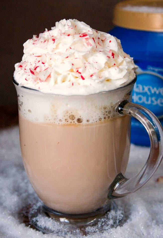Appliance City - Recipes - Peppermint White Chocolate Latte