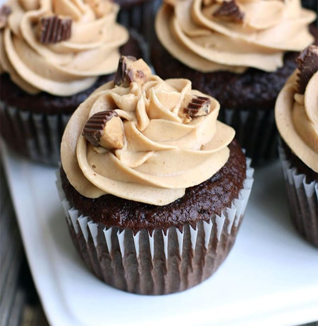 Peanut butter cupcakes - Recipes - Appliance City