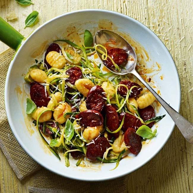Appliance City - Courgette & Chorizo Gnocchi Recipe