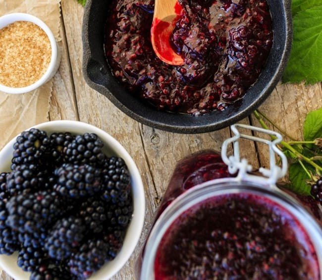 6 Simple & Seasonal Blackberry Recipes