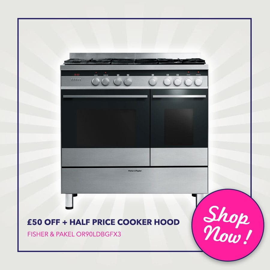Fisher Paykel Sale - The Range Cooker Sale Event | Appliance City