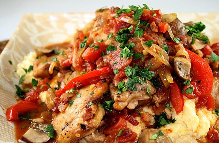 Appliance City - Chicken Cacciatore Day - Spicy Chicken Cacciatore Recipe