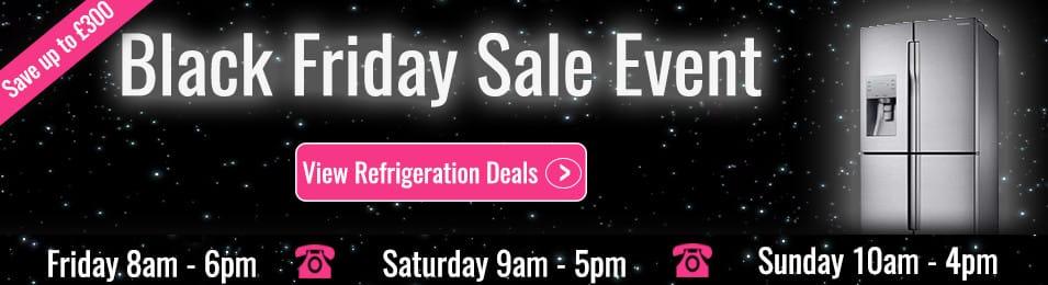 Black Friday Deals on Refrigeration