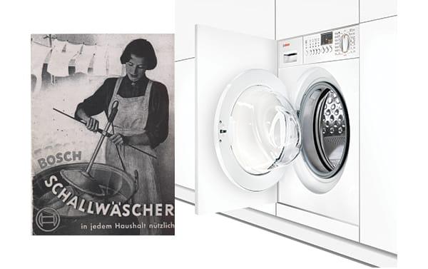Bosch Washing Machines - Vintage and Modern