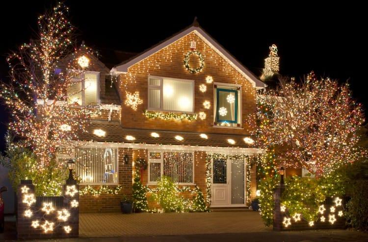 Hack 1 - Appliance City - Fairy Lights on Brick