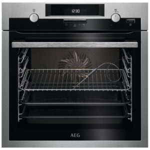 AEG BCS552020M Built In Single Multifunction Oven – STAINLESS STEEL