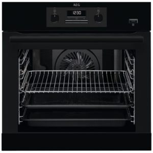 AEG BEB351010B Built In SteamBake Single Multifunction Oven – BLACK