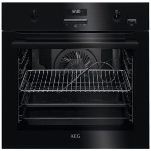 AEG BPE552220B Built In Pyrolytic SteamBake Multifunction Single Oven – BLACK