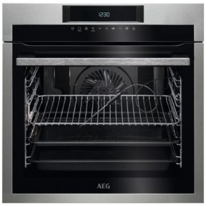 AEG BPE742320M Built In Pyrolytic Multifunction Single Oven – STAINLESS STEEL