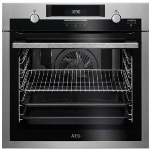 AEG BPS551020M Built In Pyrolytic SteamBake Multifunction Oven – STAINLESS STEEL
