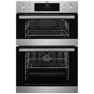 AEG DEB331010M Built In Multifunction Double Oven – STAINLESS STEEL