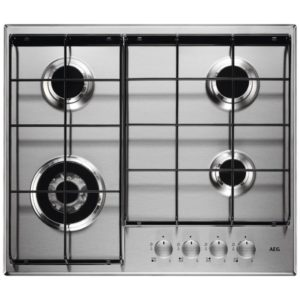 Rangemaster RMB70HPNGFGL 11224 70cm 5 Burner Gas On Glass Hob – BLACK