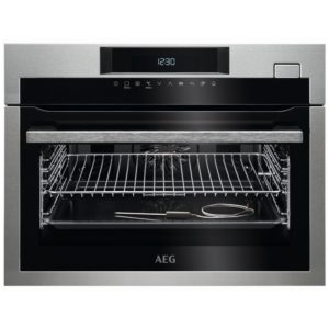 AEG KSE782220M Built In Compact Steam Combination Oven – STAINLESS STEEL