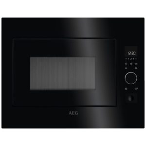 AEG MBE2658S-B Built In Microwave For Tall Housing – BLACK