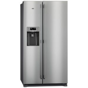 AEG RMB76111NX American Style Fridge Freezer With Ice And Water – STAINLESS STEEL