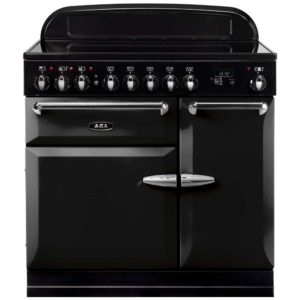 AGA Masterchef MEIMSOBLK 90cm Induction Range Cooker – BLACK