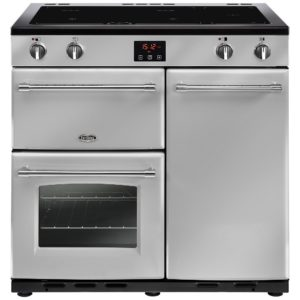 Belling FARMHOUSE 90EISIL 4131 90cm Induction Range Cooker – SILVER