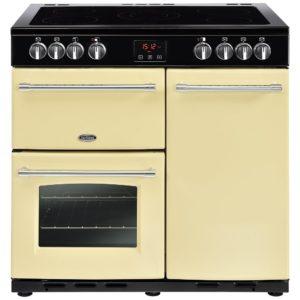 Belling FARMHOUSE 90ECRM 4126 90cm Ceramic Range Cooker – CREAM