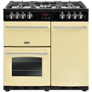 Belling FARMHOUSE 90GCRM 4129 90cm Gas Range Cooker – CREAM