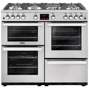 Belling COOKCENTRE 110GPROFSTA 4099 110cm Gas Range Cooker – STAINLESS STEEL