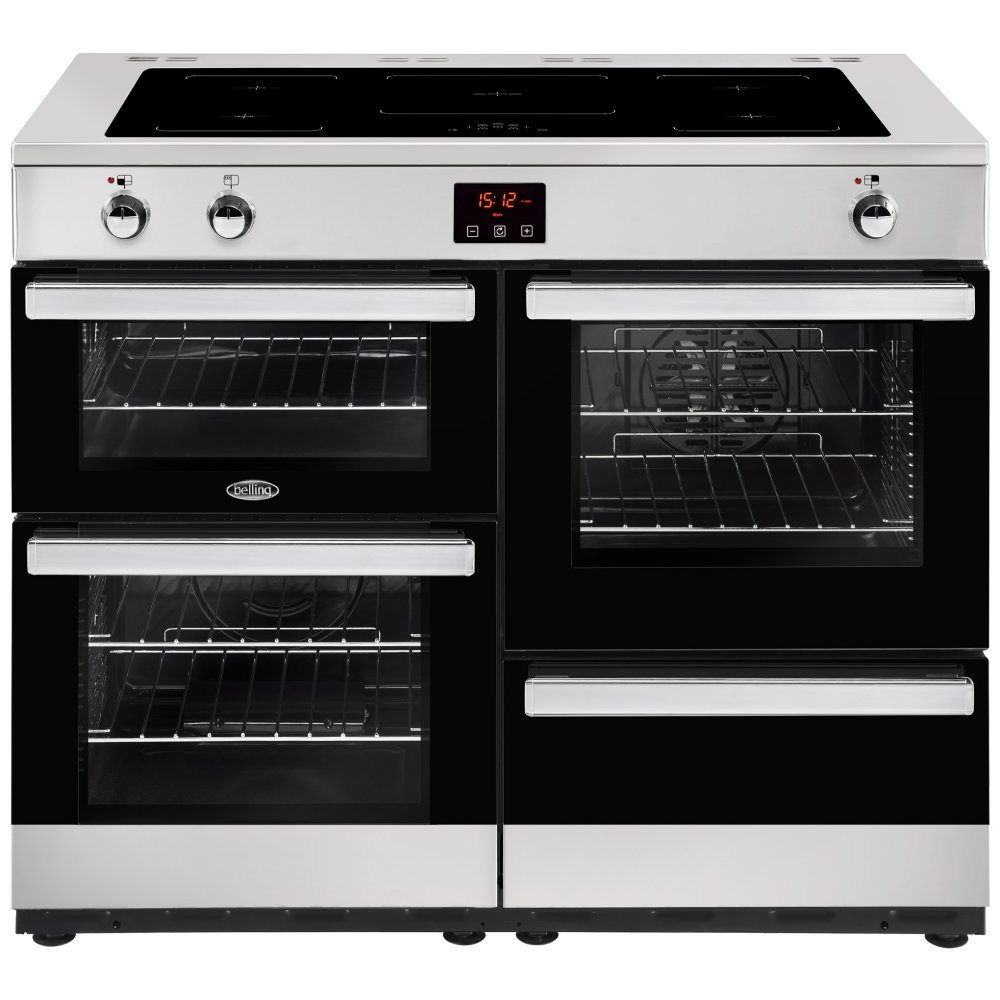 Belling COOKCENTRE 110EISTA 4103 110cm Induction Range Cooker - STAINLESS STEEL
