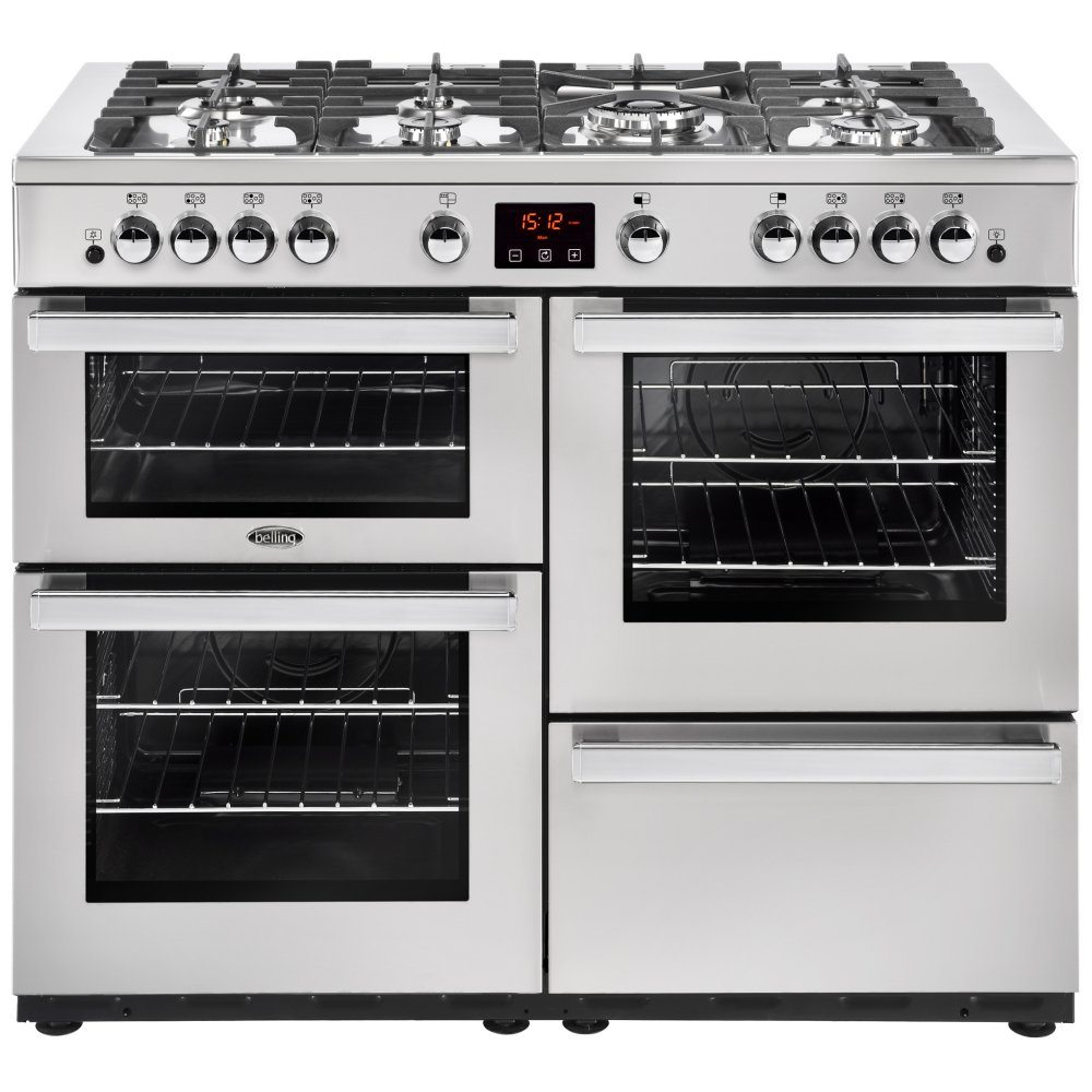 Belling COOKCENTRE 110GPROFSTA 4099 110cm Gas Range Cooker - STAINLESS STEEL