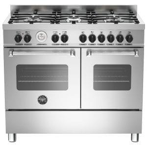 Bertazzoni MAS100-6-MFE-D-XE 100cm Master Dual Fuel Range Cooker – STAINLESS STEEL