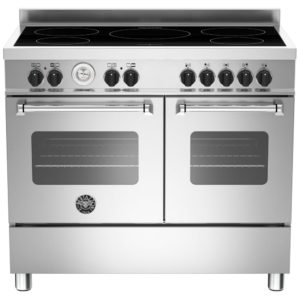 Bertazzoni MAS100-5I-MFE-D-XE 100cm Master Series Induction Range Cooker – STAINLESS STEEL