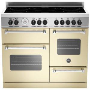Bertazzoni MAS100-5I-MFE-T-CRE 100cm Master Series XG Induction Range Cooker – CREAM