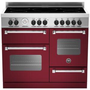 Bertazzoni MAS100-5I-MFE-T-VIE 100cm Master Series XG Induction Range Cooker – BURGUNDY