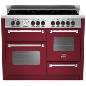Bertazzoni MAS110-5I-MFE-T-VIE 110cm Master Series XG Induction Range Cooker – BURGUNDY