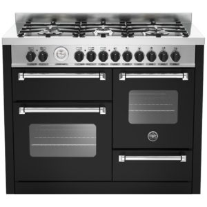 Bertazzoni MAS110-6-MFE-T-NEE 110cm Master Series XG Dual Fuel Range Cooker – BLACK
