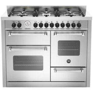Bertazzoni MAS110-6-MFE-T-XE 110cm Master Series XG Dual Fuel Range Cooker – STAINLESS STEEL
