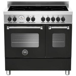 Bertazzoni MAS90-5I-MFE-D-NEE 90cm Master Series Induction Twin Range Cooker – BLACK