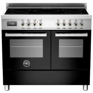 Bertazzoni PRO100-5I-MFE-D-NET 100cm Professional Induction Range Cooker – BLACK