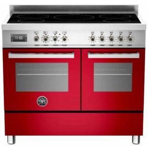 Bertazzoni PRO100-5I-MFE-D-ROT 100cm Professional Induction Range Cooker – RED