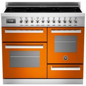 Bertazzoni PRO100-5I-MFE-T-ART 100cm Professional XG Induction Range Cooker – ORANGE