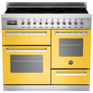 Bertazzoni PRO100-5I-MFE-T-GIT 100cm Professional XG Induction Range Cooker – YELLOW