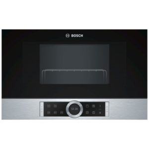 Bosch BFL634GS1B Serie 8 Built In Microwave For Wall Unit – STAINLESS STEEL