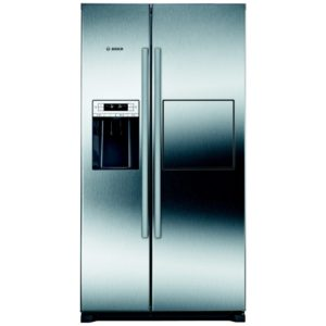 Bosch KAG90AI20G American Style Fridge Freezer With Ice & Water And Homebar – STAINLESS STEEL
