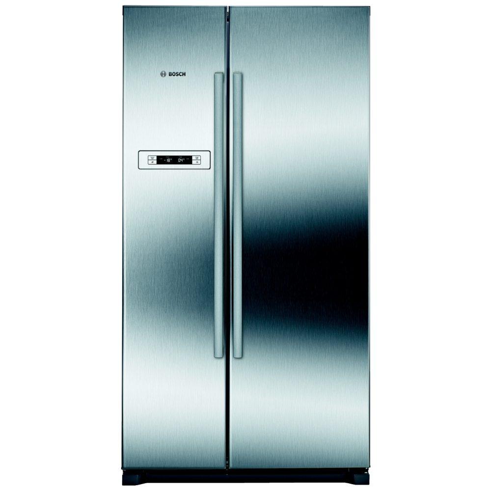 BOSCH KAN90VI20G American-Style Fridge Freezer - Stainless Steel