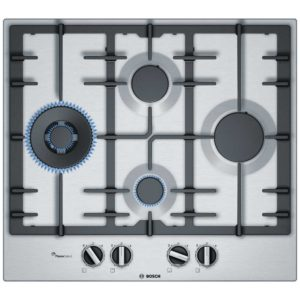 Bosch PCI6A5B90 60cm Serie 6 4 Burner Gas Hob – STAINLESS STEEL