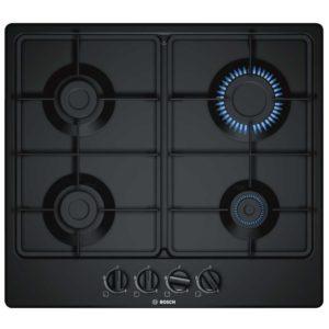 Bosch PGP6B6B60 60cm Serie 4 4 Burner Gas Hob – BLACK